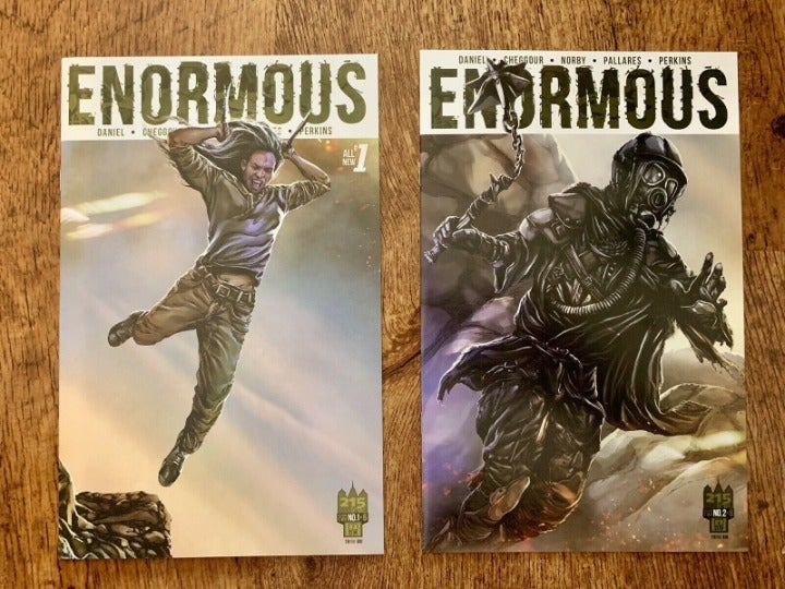 ENORMOUS 2015 #1 2 TWO ISSUE LOT 215 INK