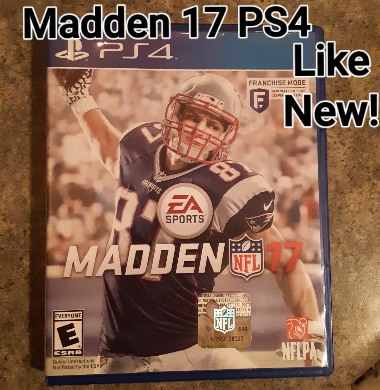 Madden 17 PS4 Video Game