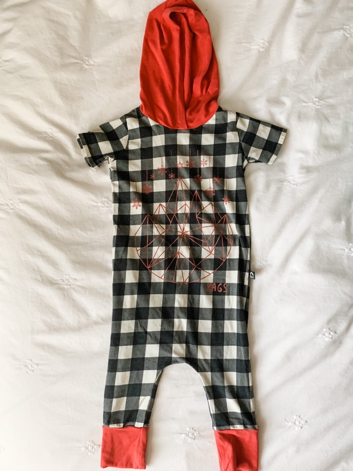 Rags to Raches Romper 2T