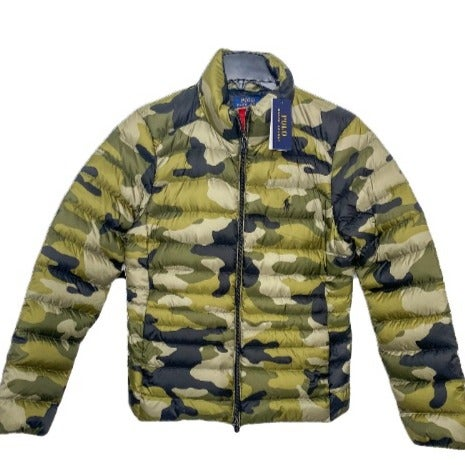 Polo Ralph Lauren Camo Packable Down Med