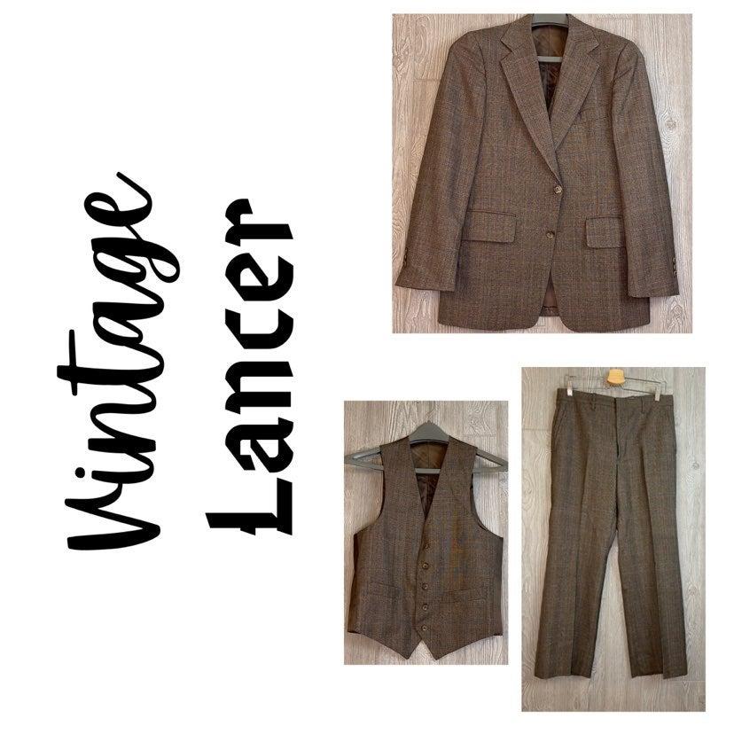 Vintage Union Made Lancer Suit