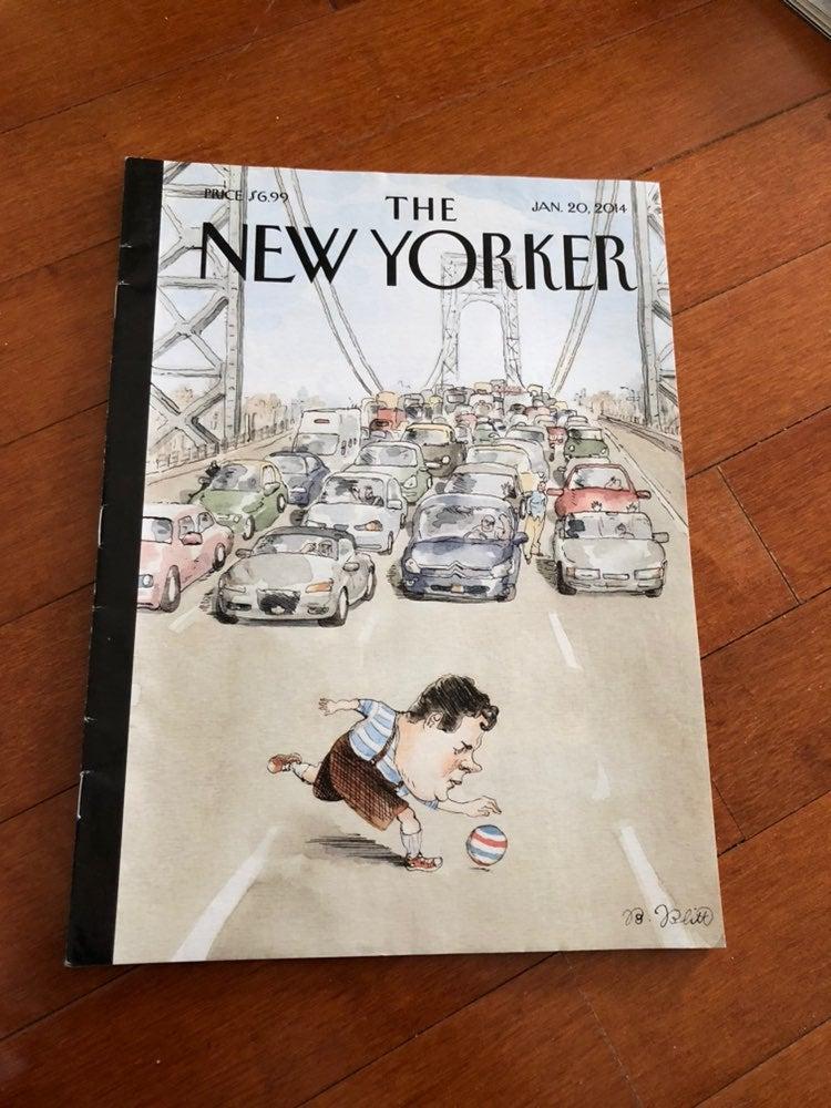 Gov Christy New Yorker Magazine