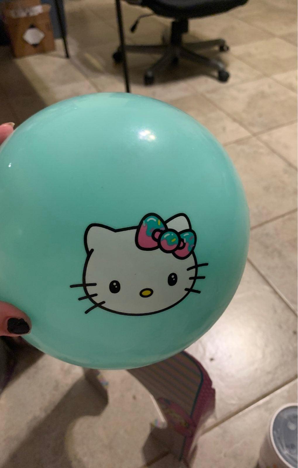 Hello kitty bouncing ball