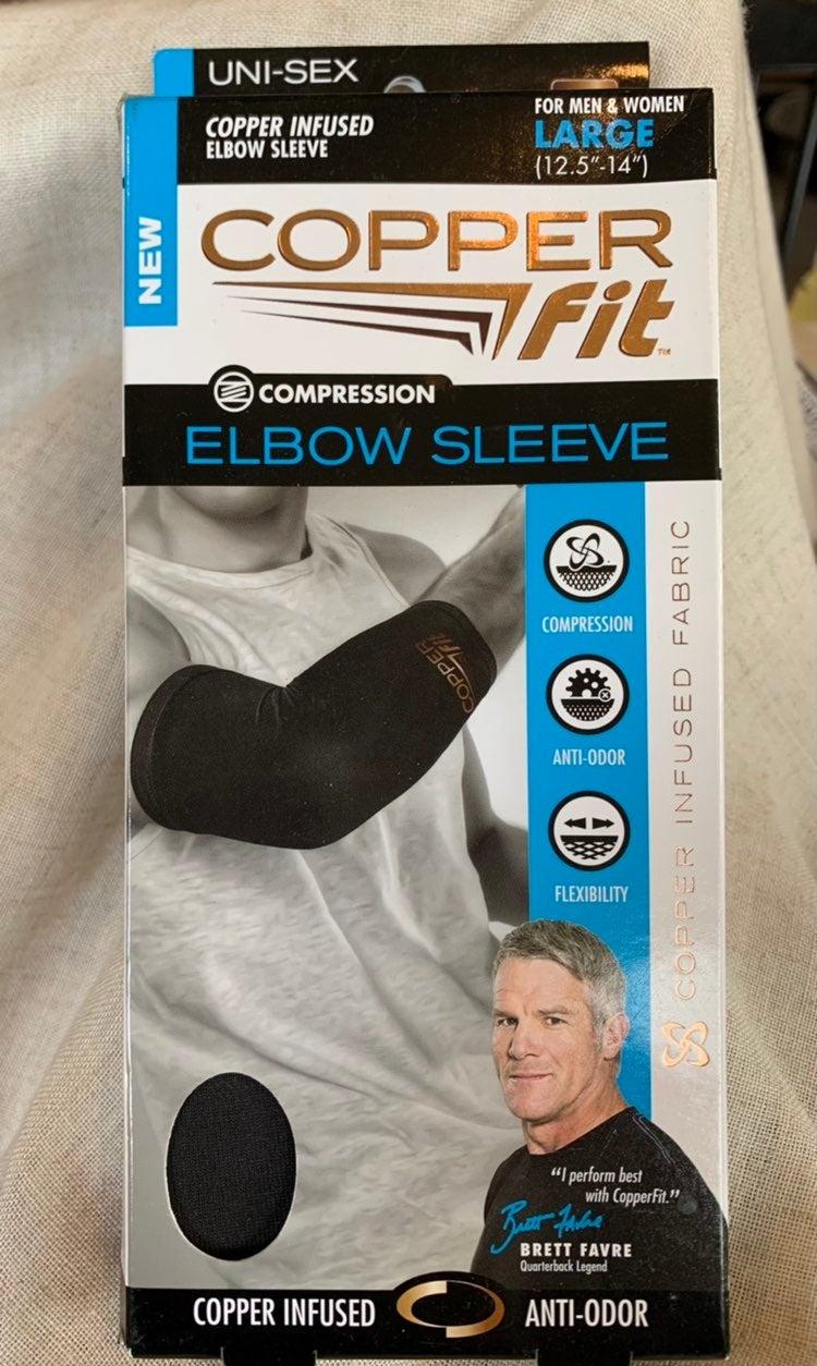 Copper fit elbow