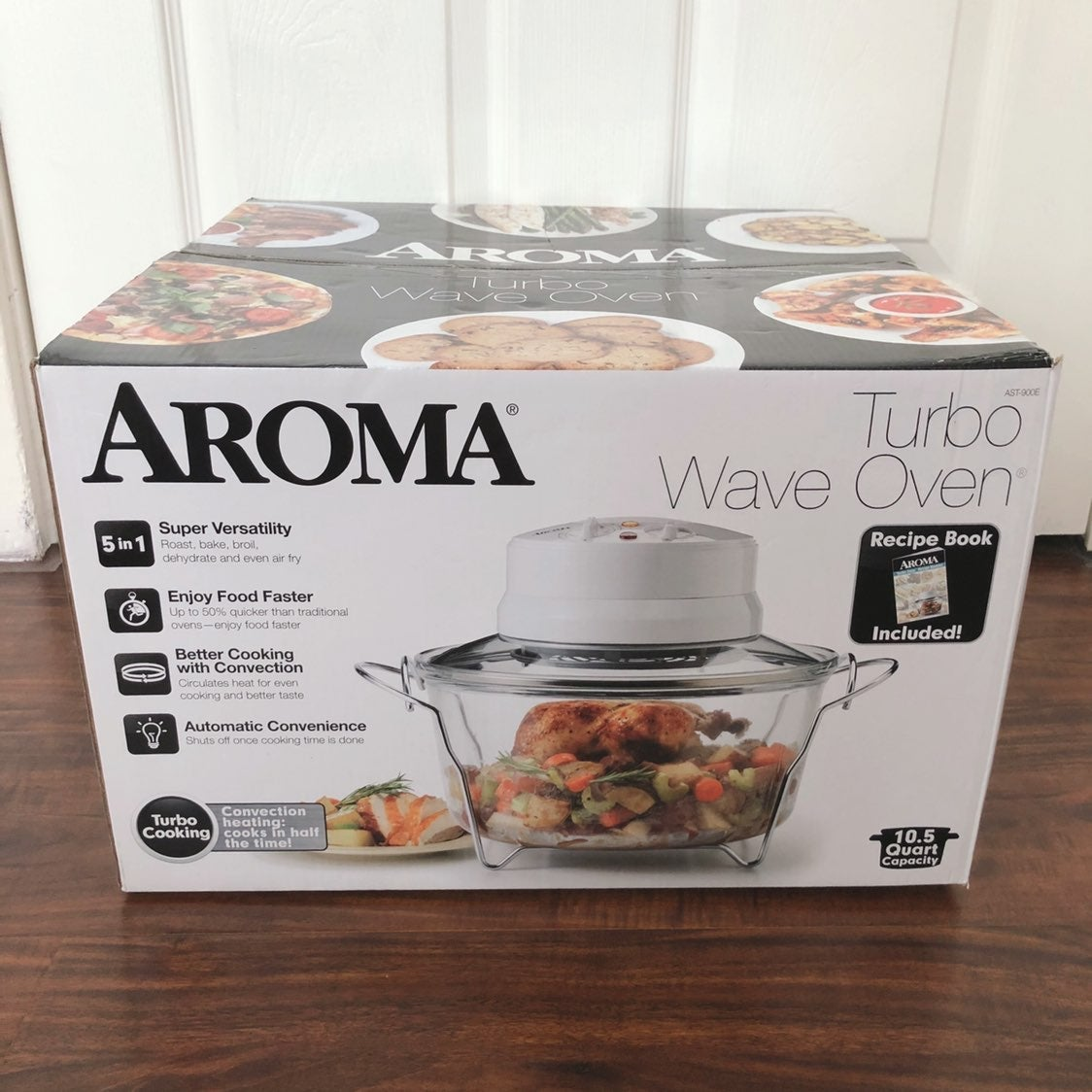 Aroma AeroMatic Air Fryer + Wave Oven