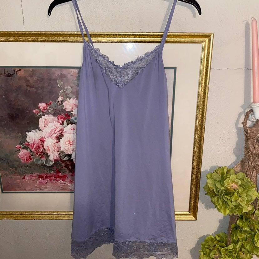 Lavender Slip Nightgown