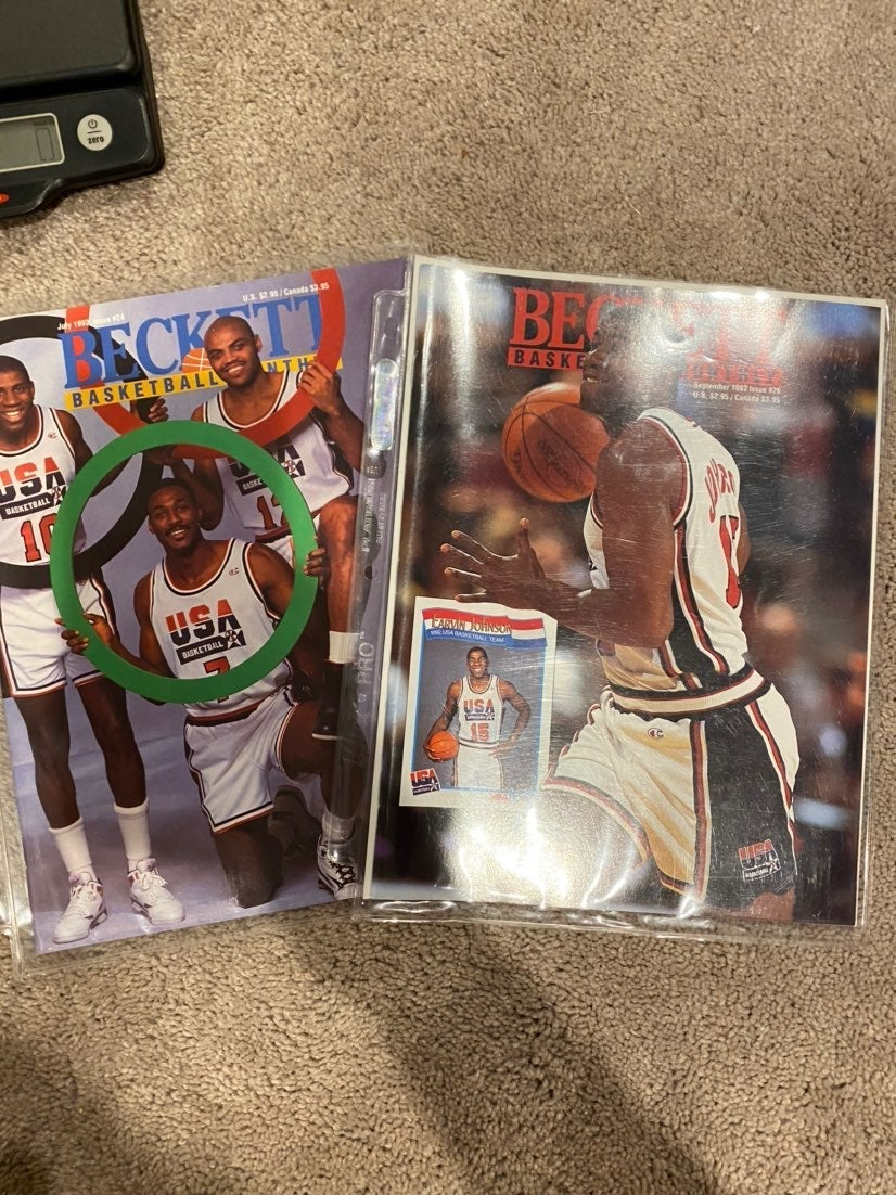 Beckett Basketball Monthly Olympic