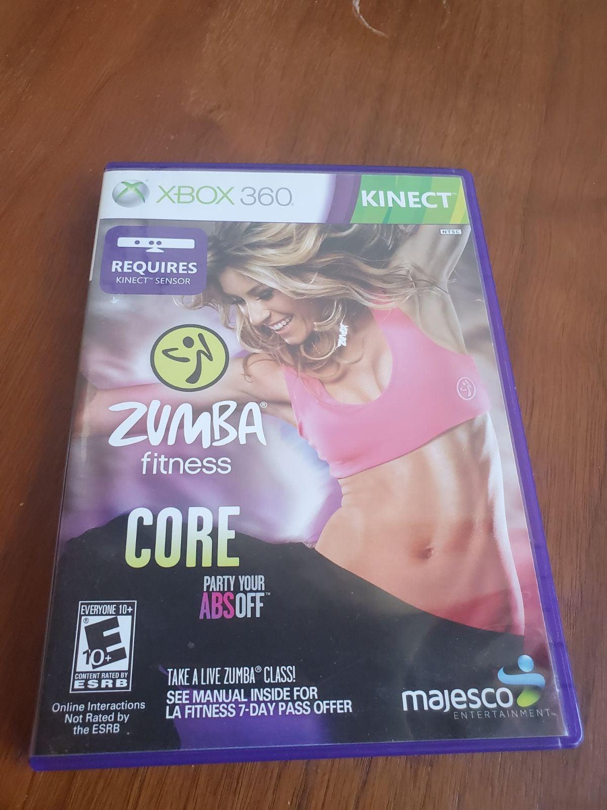 Zumba Fitness Core XBOX360 Kinect