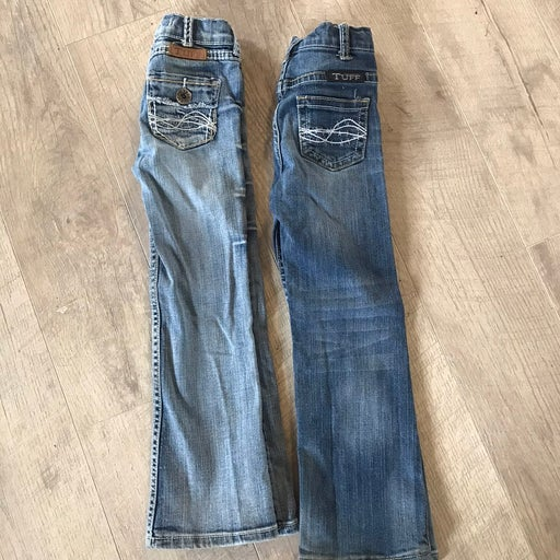 Girls cowgirl Tuff Jeans size 5T