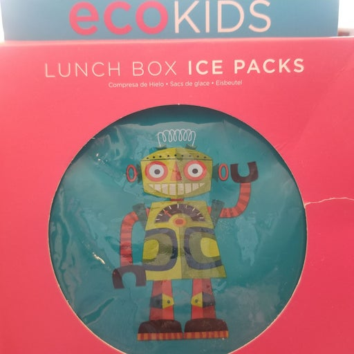 Eco kids lunchbox Ice packs, 2 Designs
