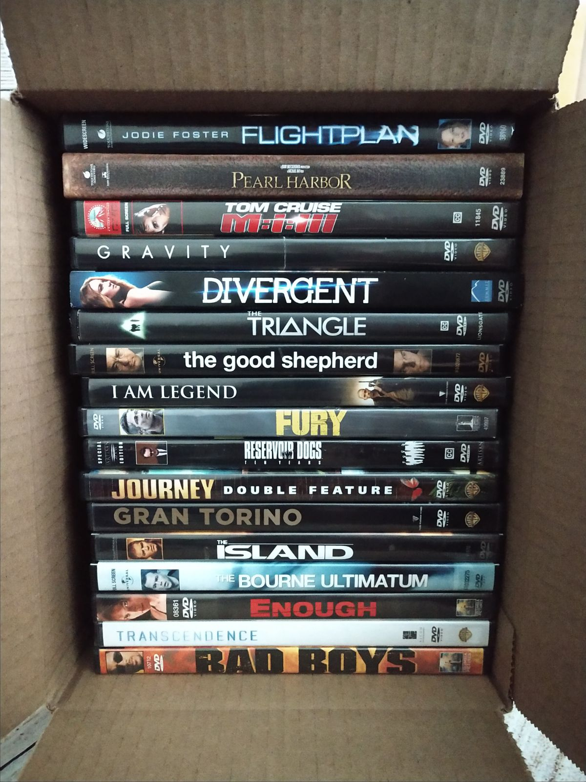 Lot of 17 GREAT ACTION DVDs movies (A3)