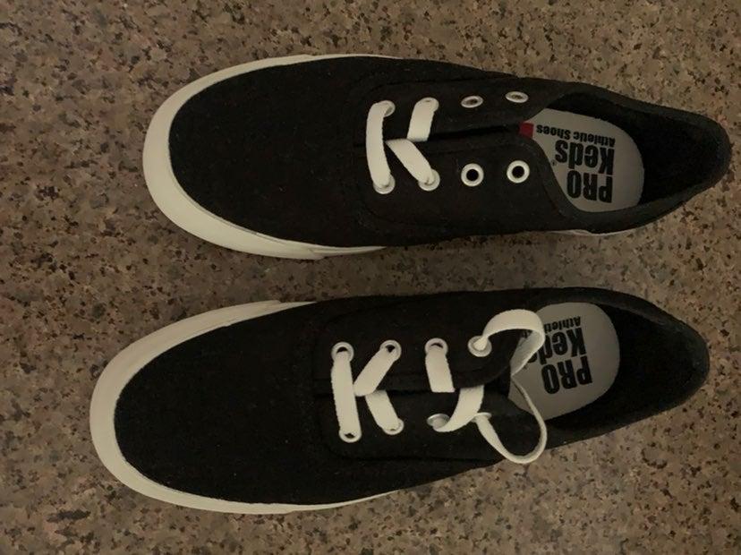 Black Pro Keds Sneakers