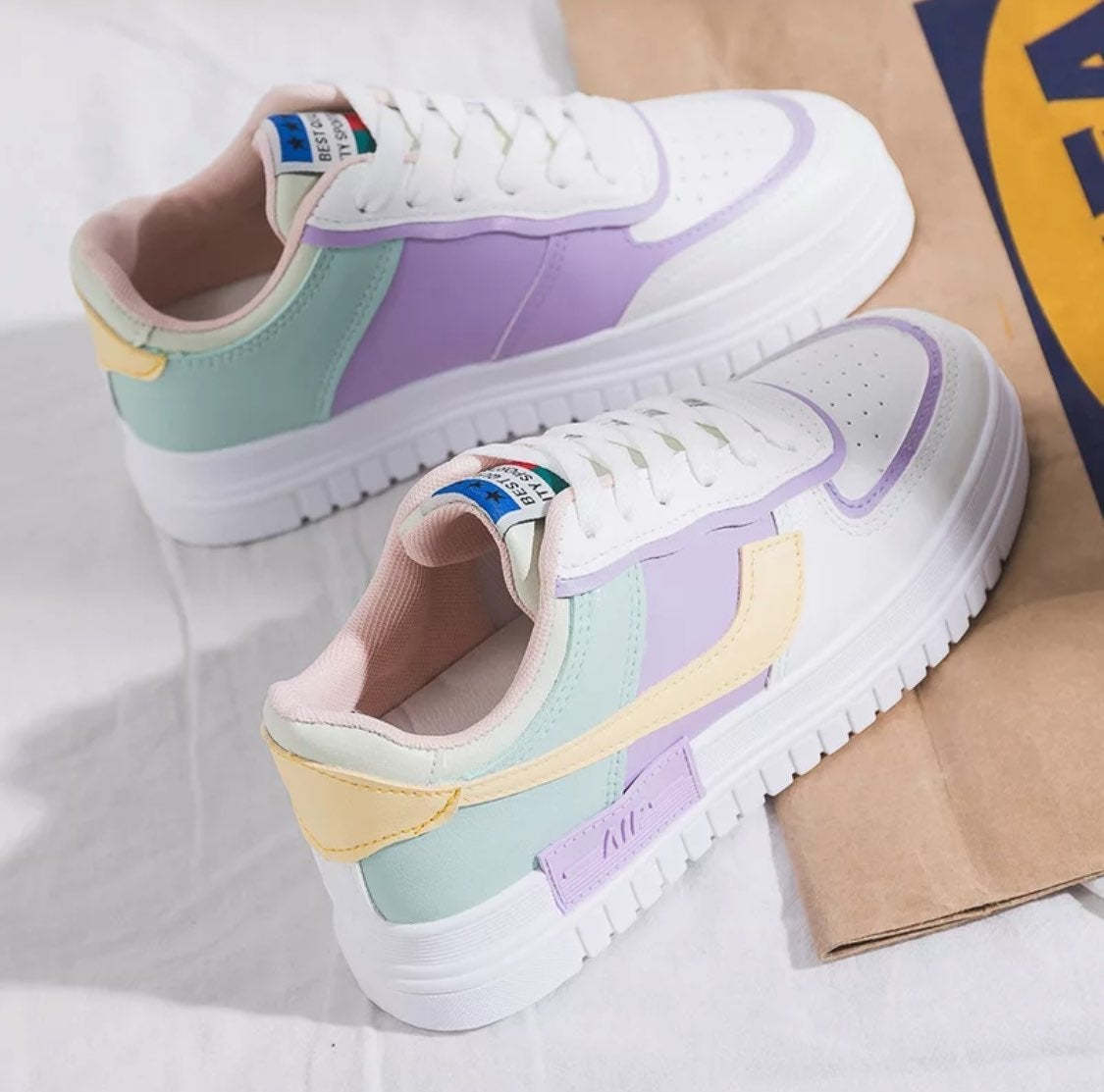 Summer Women sneakers shoes white tennis