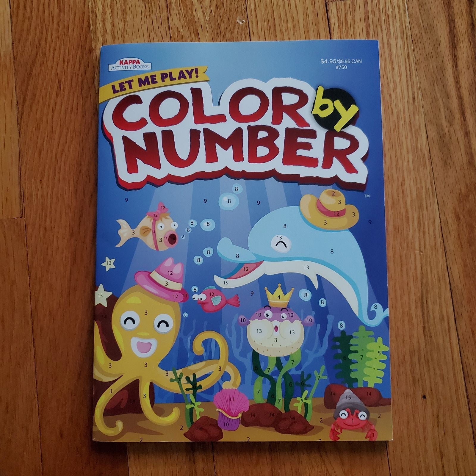 Color By Number Adult / Child Book