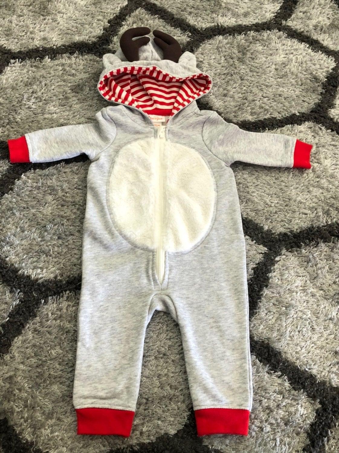 Reindeer onesie from Target