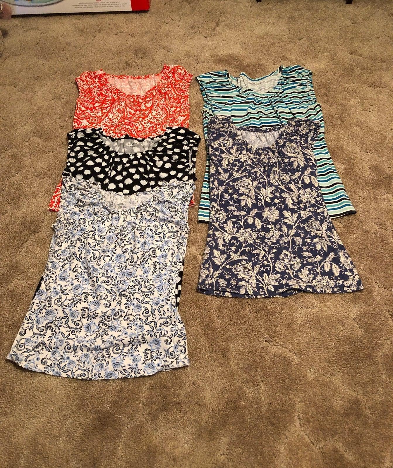 Bundle of Ladies Sleeveless tops