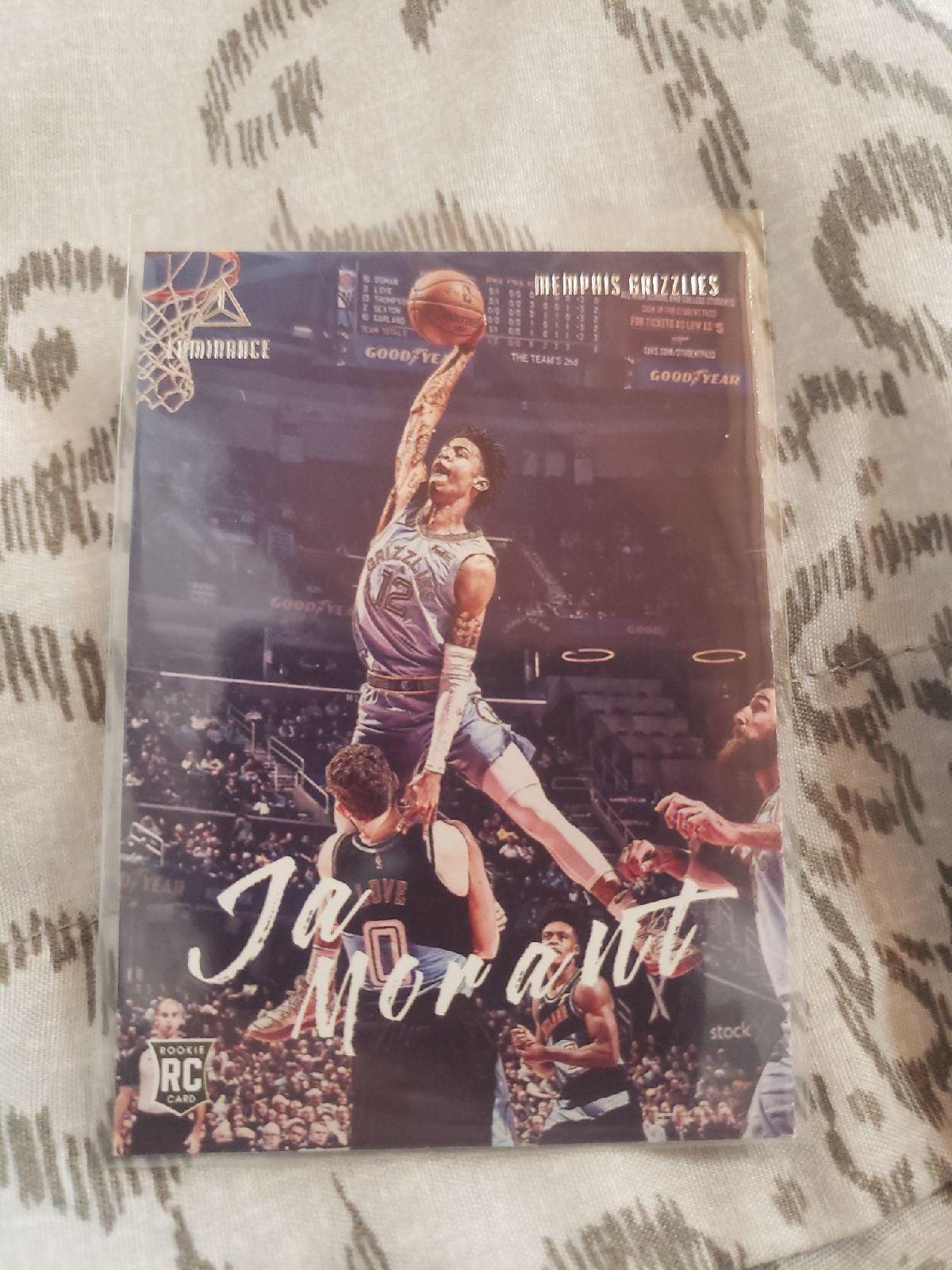 Ja Morant Rookie Card