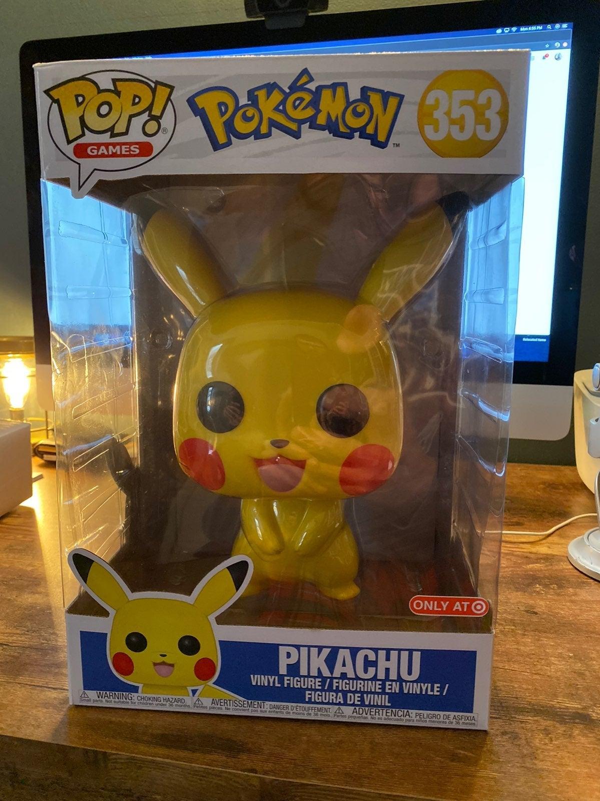 "10"" Pikachu Funko Pop! Target Exclusive!"