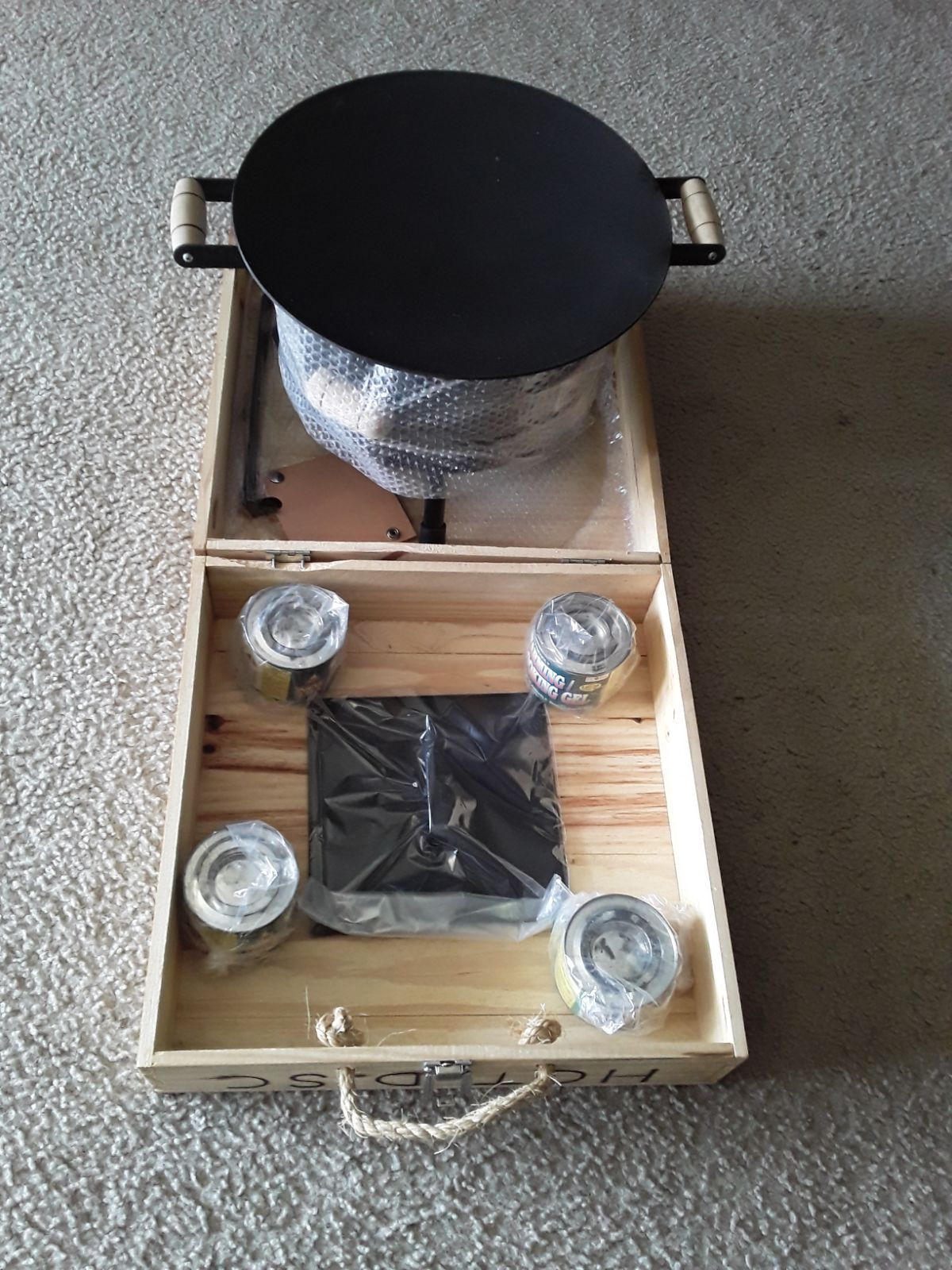 New era hot disc bbq grill