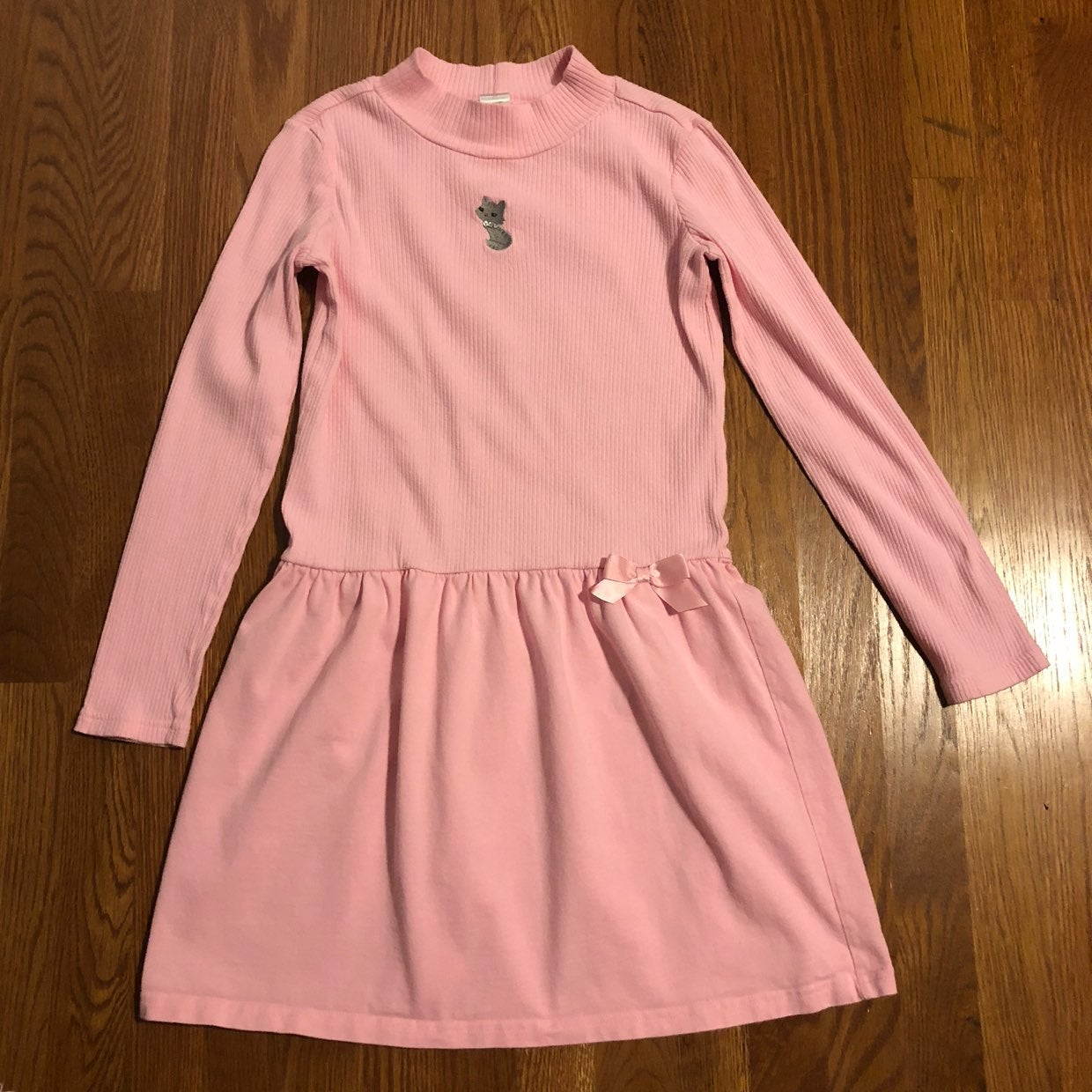 Gymboree Pink Knit Dress Size 12