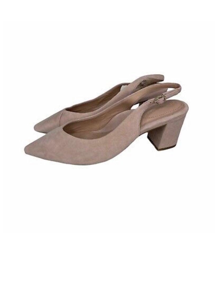 Taryn Rose Pink Block Heels