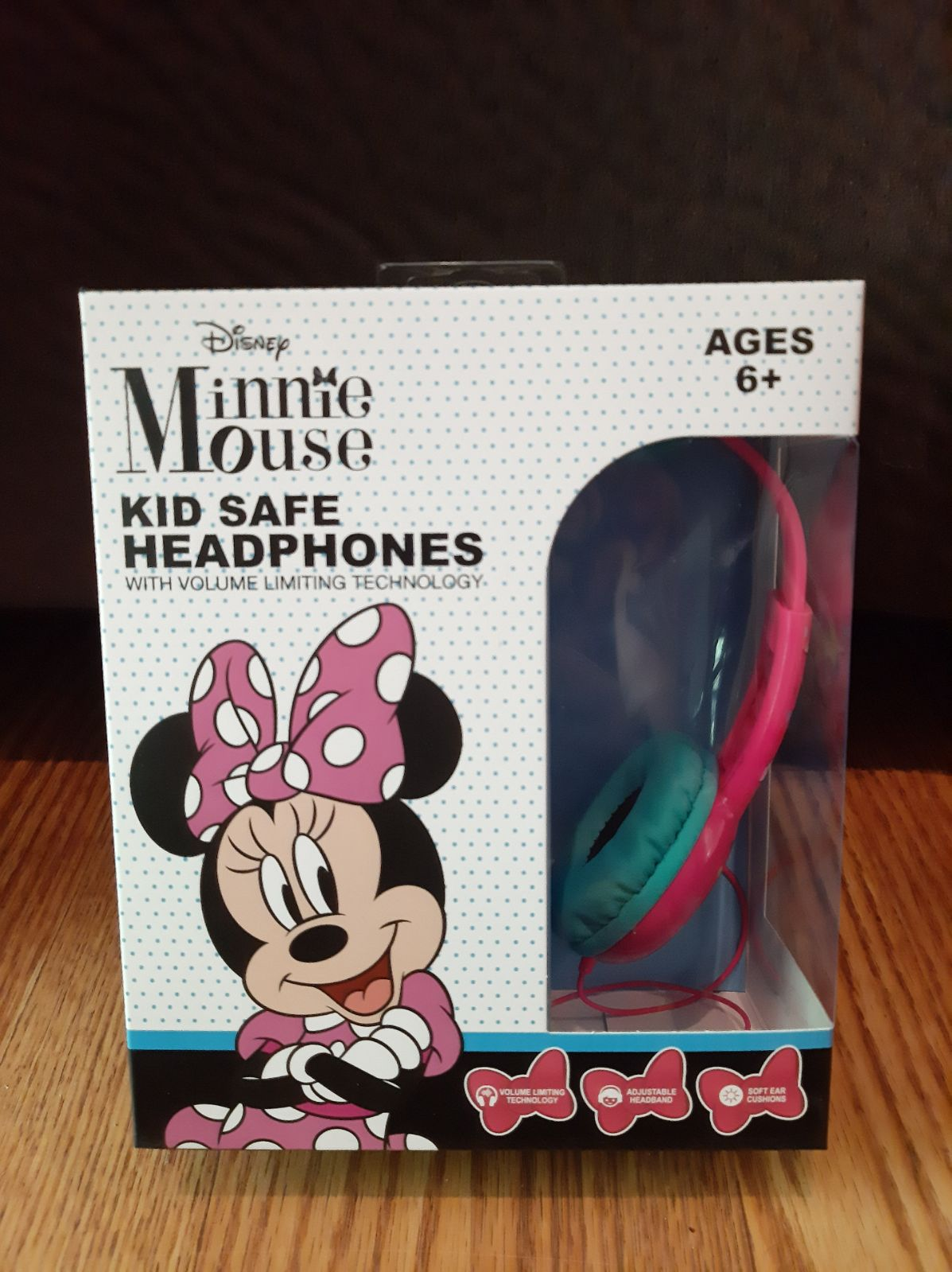 Minnie Mouse Kid Safe Headphones Music