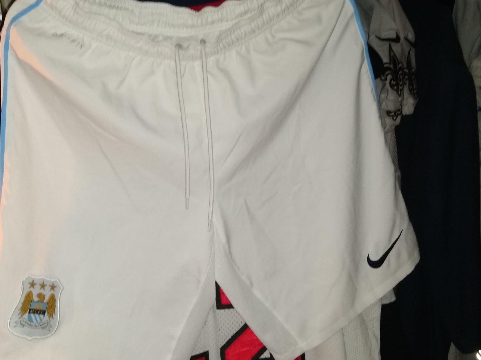 Nike Manchester City FC shorts