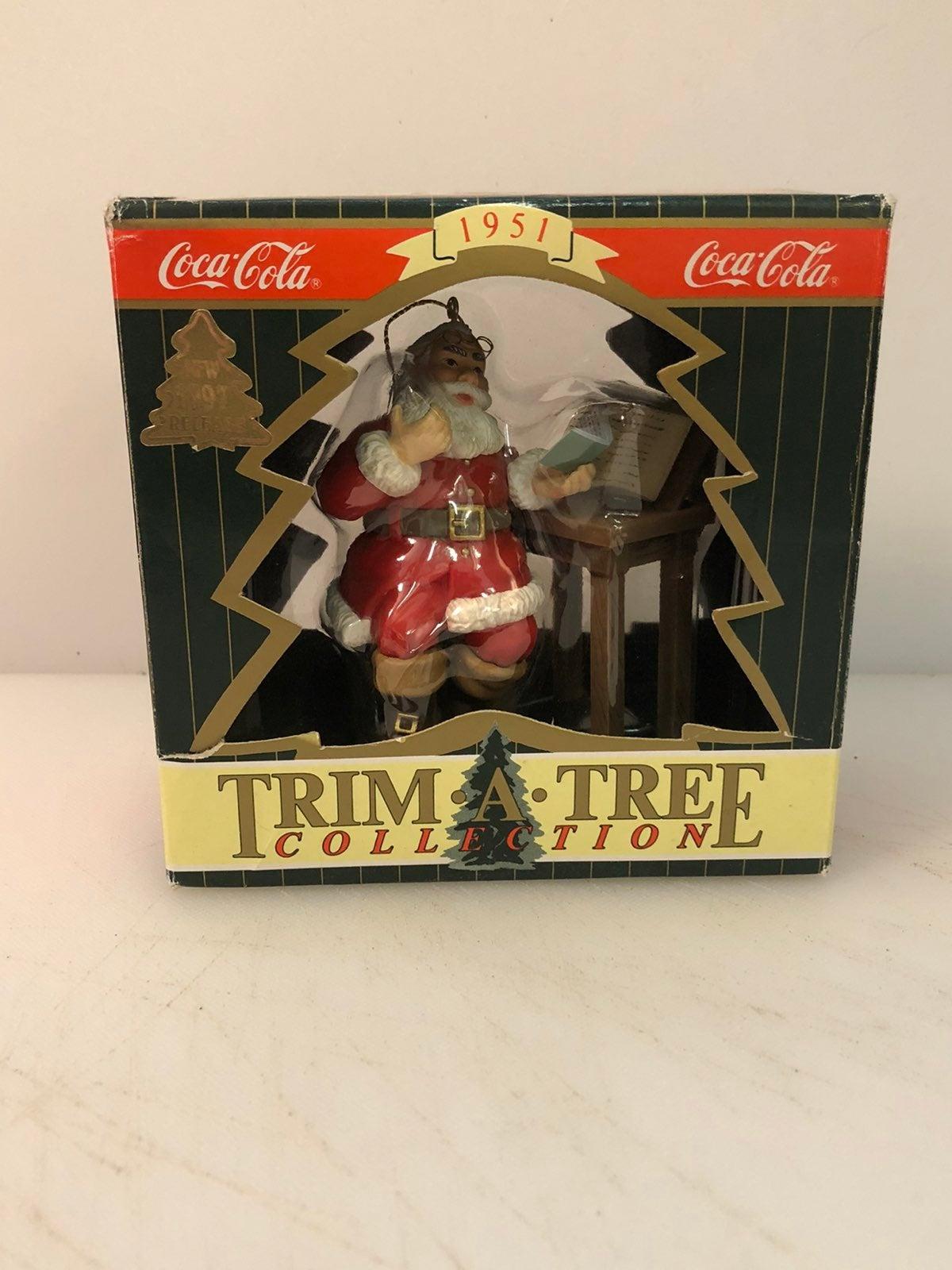 1997 Vintage Coca-Cola Ornament