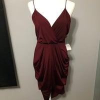 c41d8ab331d Burgundy Party Dress. Charlotte Russe. S. Burgundy Party Dress