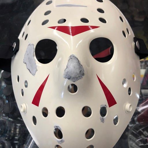 Custom Painted Hockey Mask