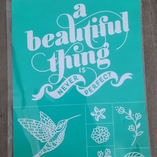 A Beautiful Thing - Chalk Couture transf