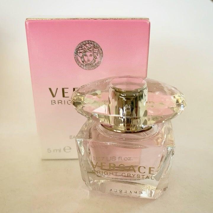 Versace bright crystal perfume mini size