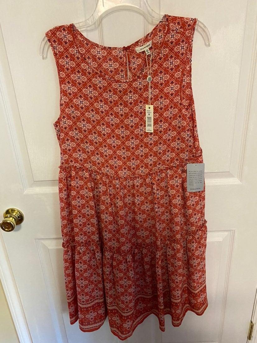 Max Studio tiered dress.
