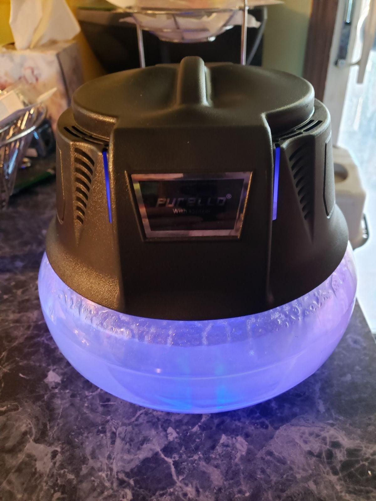 Air freshener/purifier with ionizer