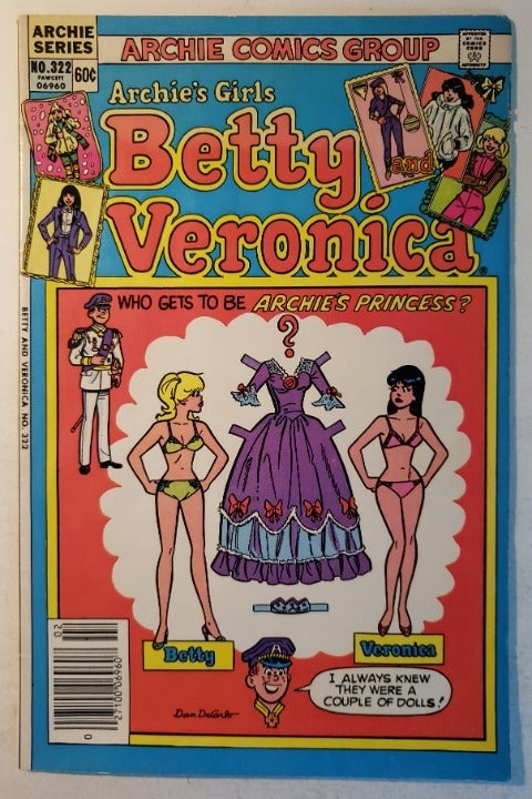Archie's Girls, Betty and Veronica #322