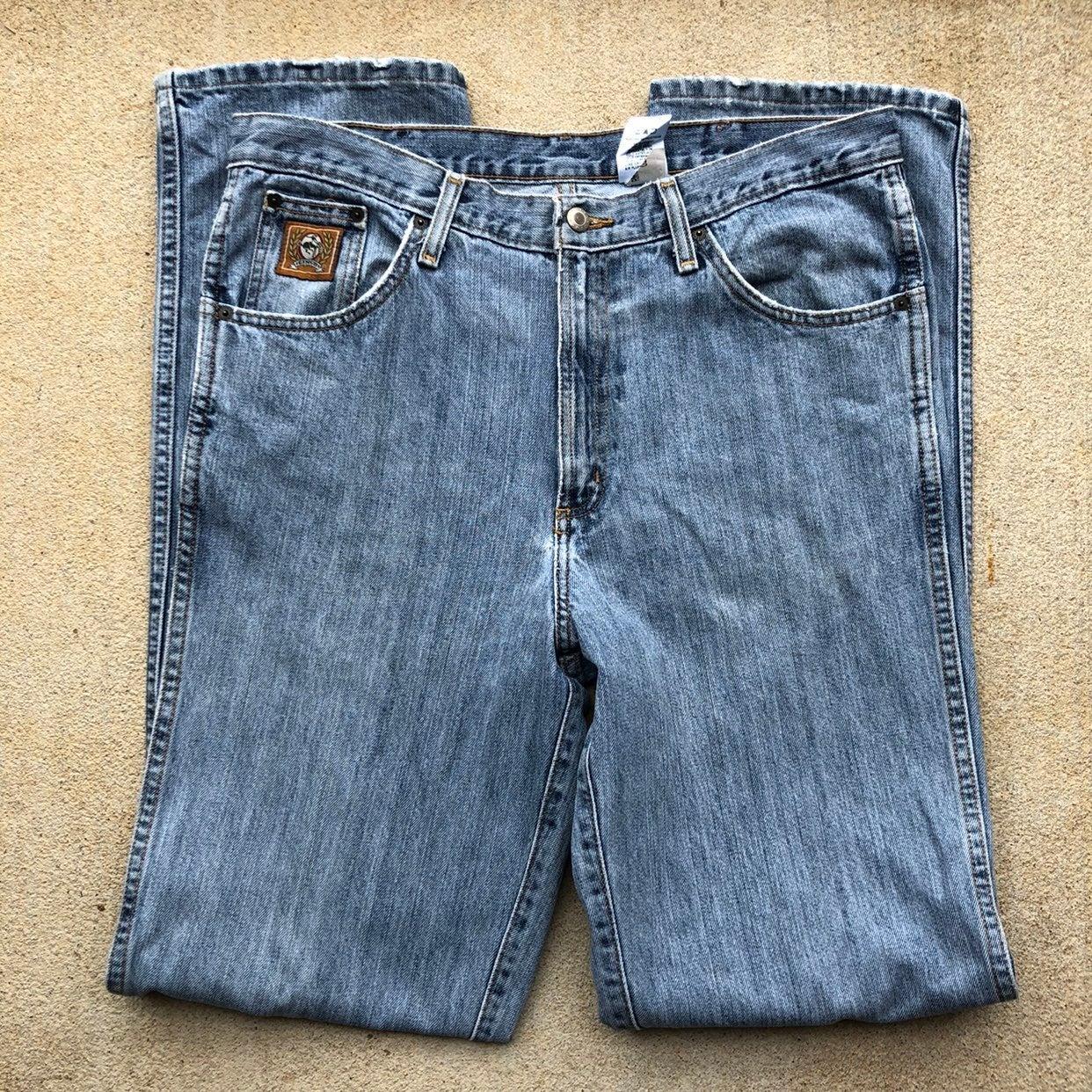 Cinch Cowboy Mens 35x36 Blue Jeans pants