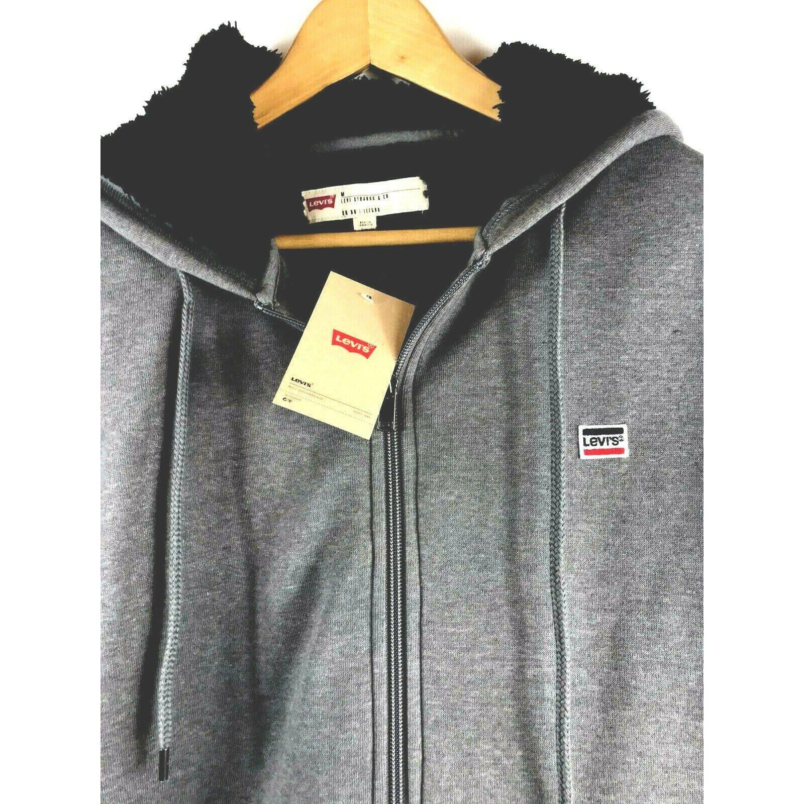 Levi's Sherpa Full Zip Fleece Hoodie