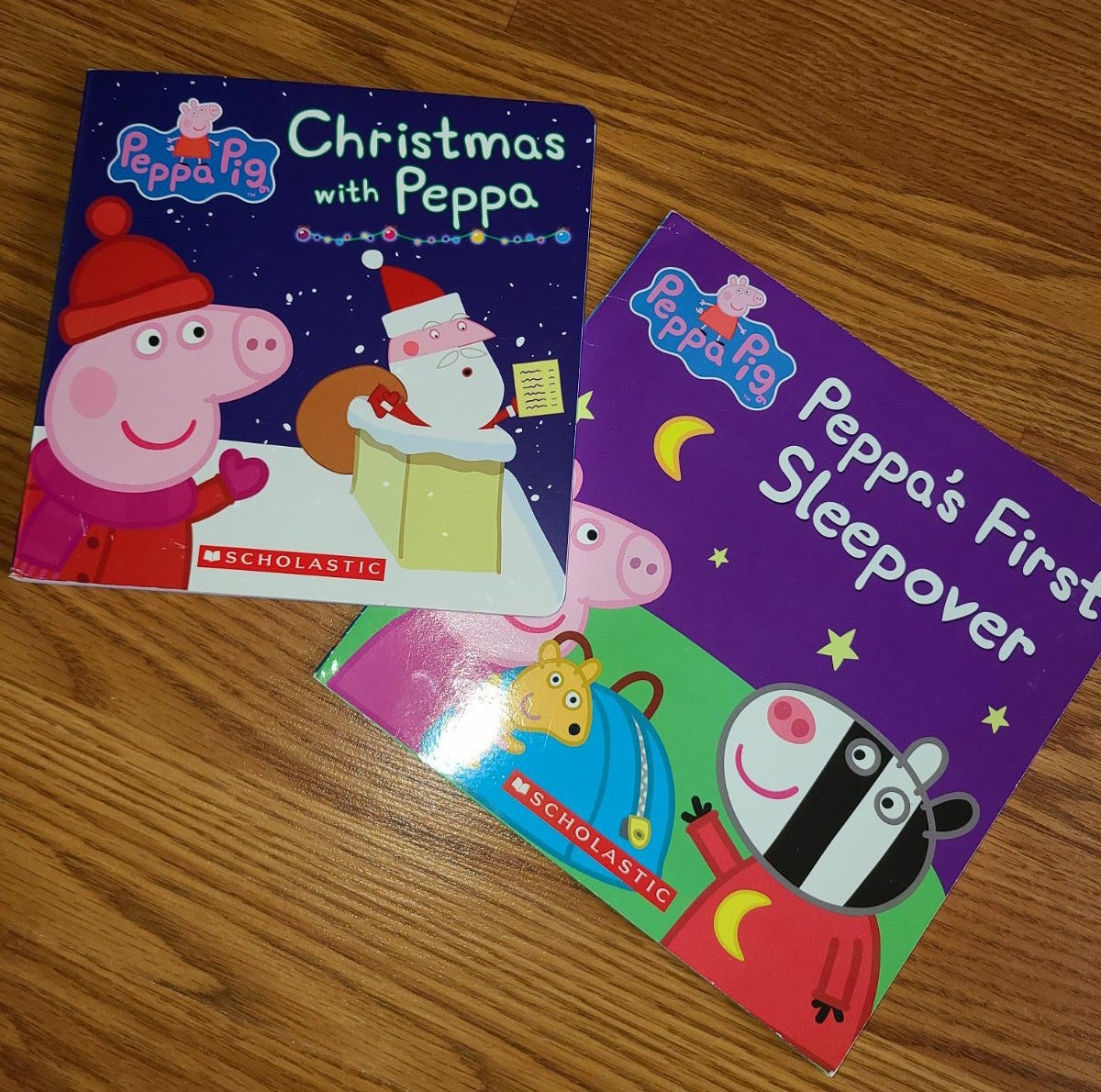 Peppa Pig 2 book bundle