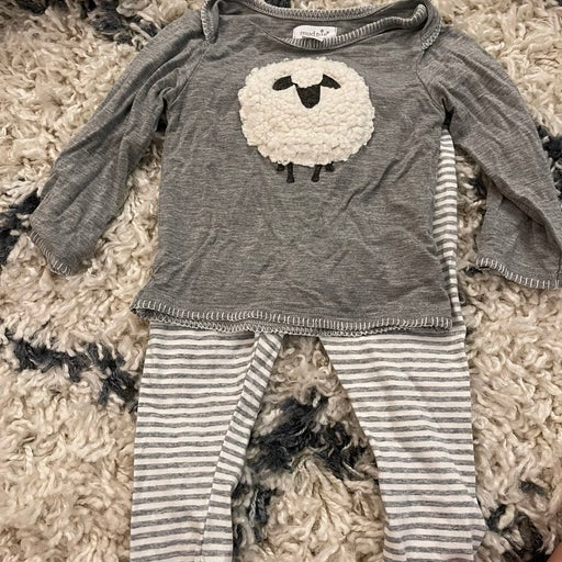 Mud Pie Lamb outfit 9-12 months