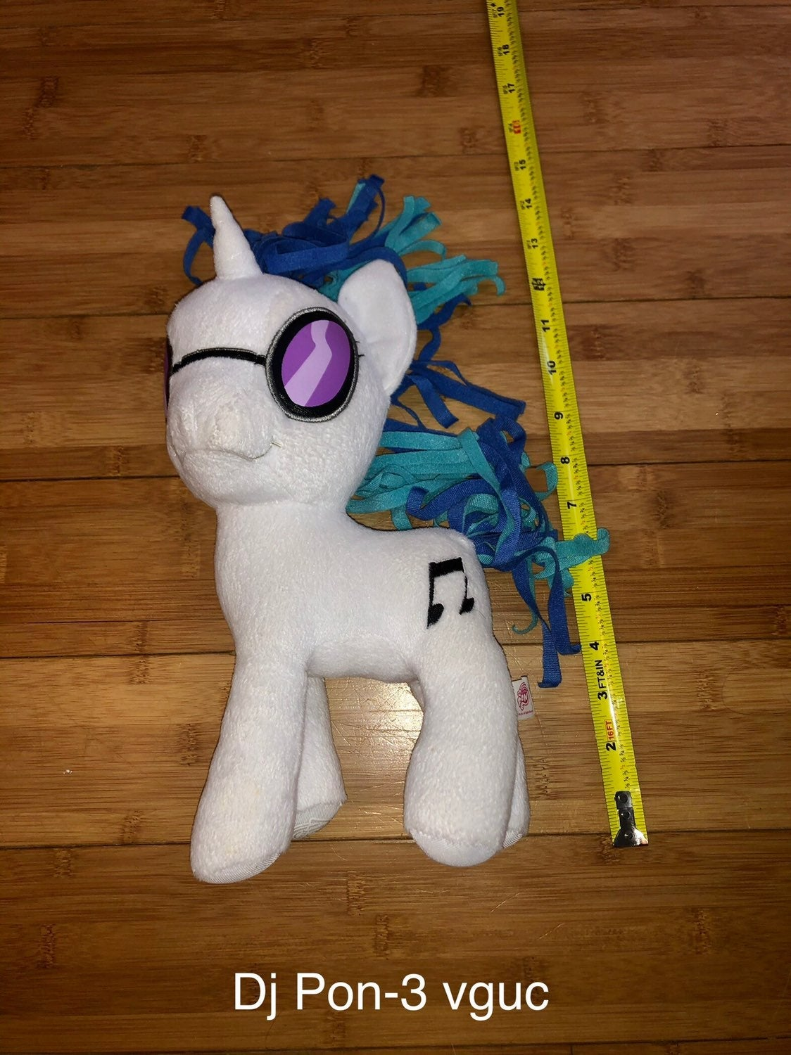 My Little Pony DJ- Pon 3 Plush