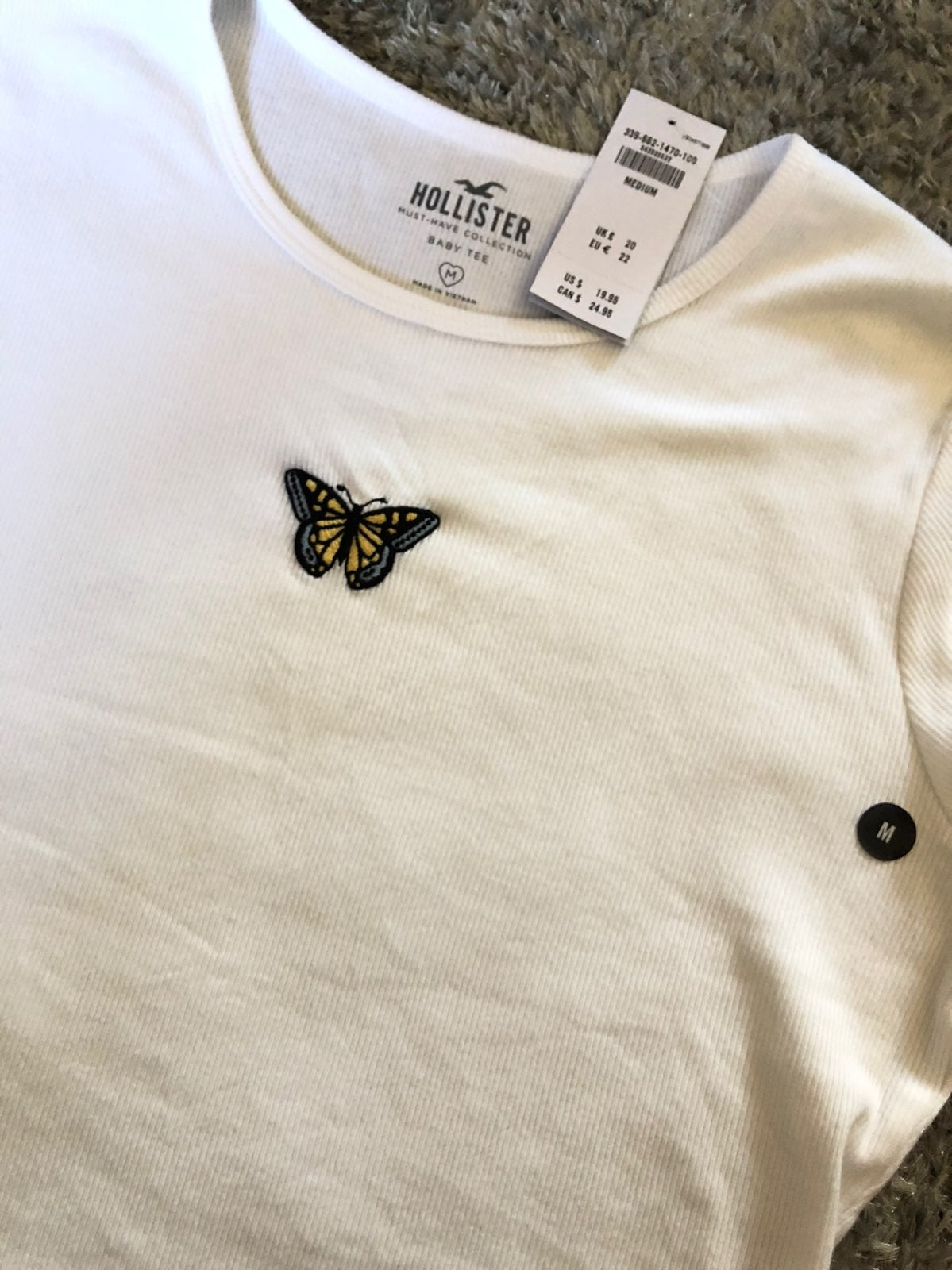 Holister butterfly top