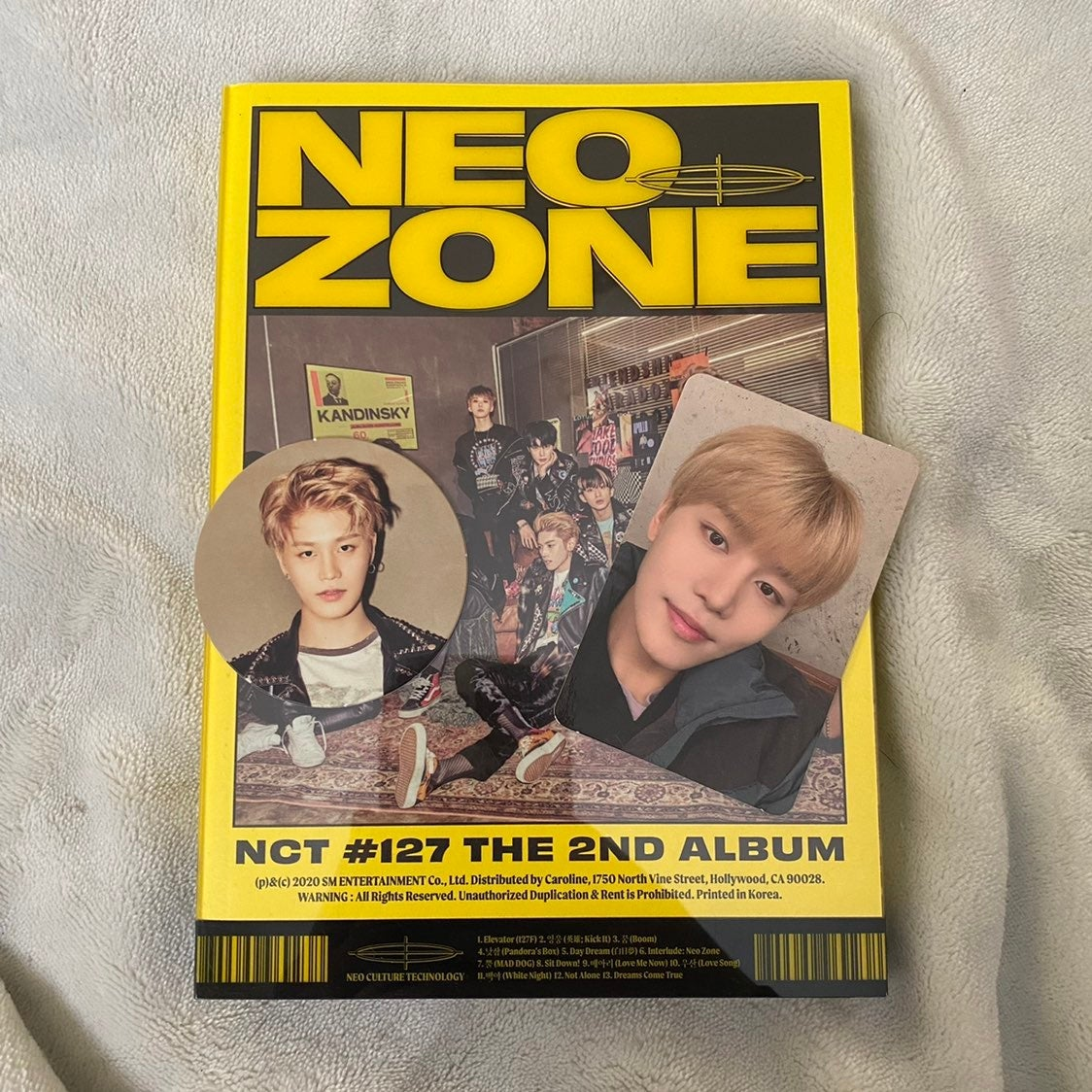 NCT 127 Neo Zone (N Version)
