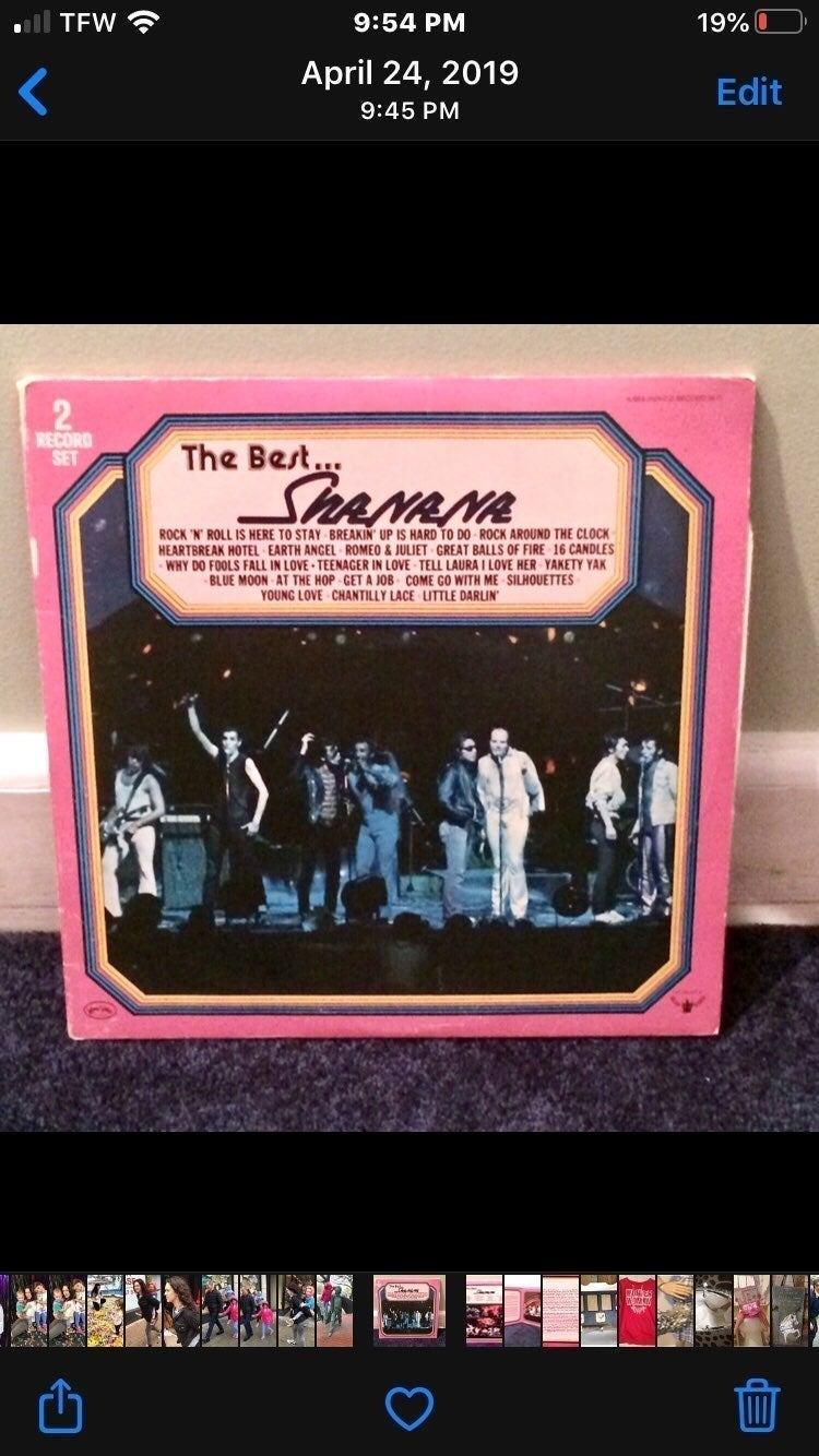THE BEST OF SHA NA NA - VINYL RECORD