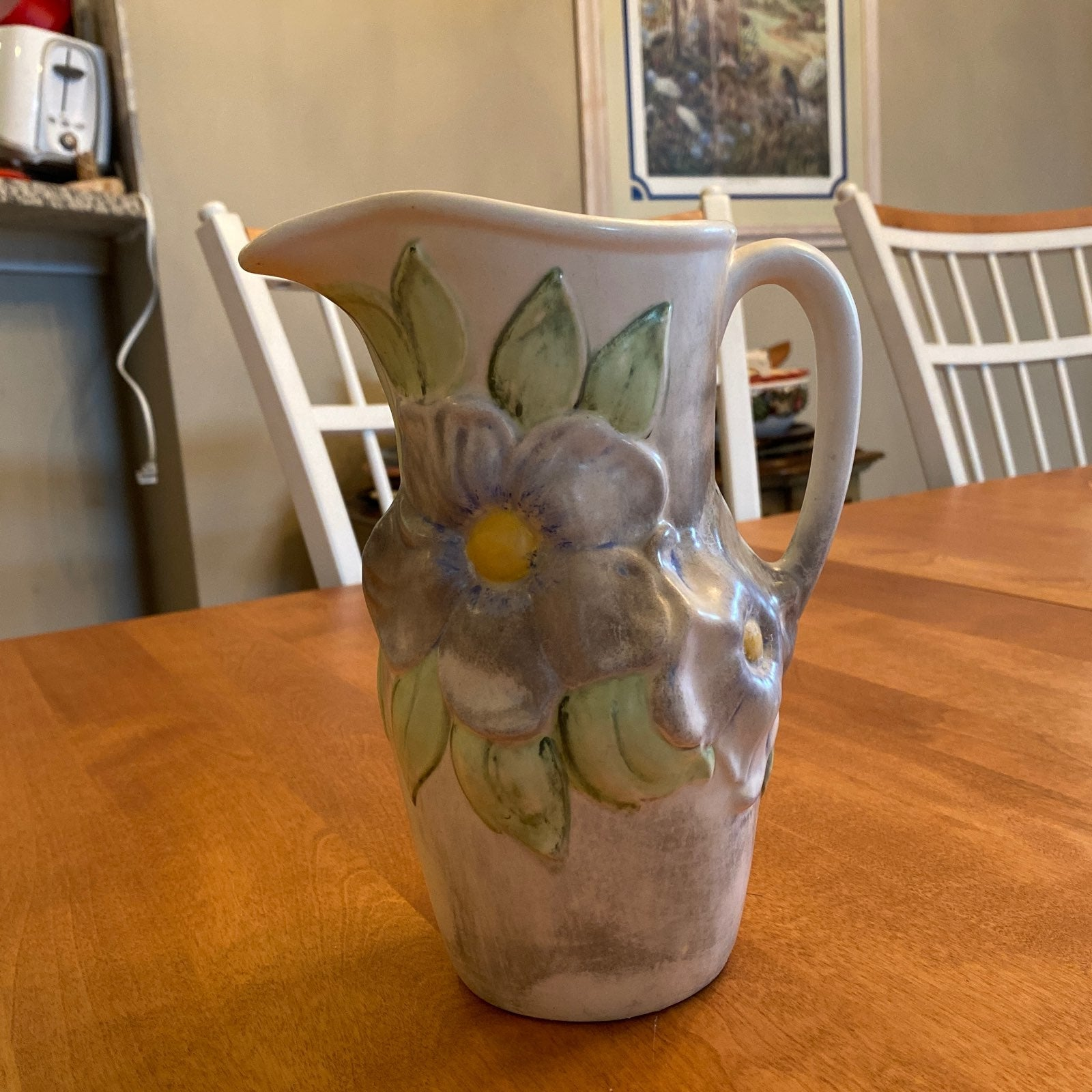Holland Mold Pottery Pitcher