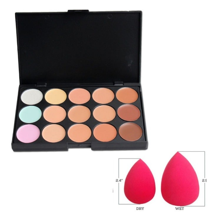 15 Colors Contour Concealer Makeup
