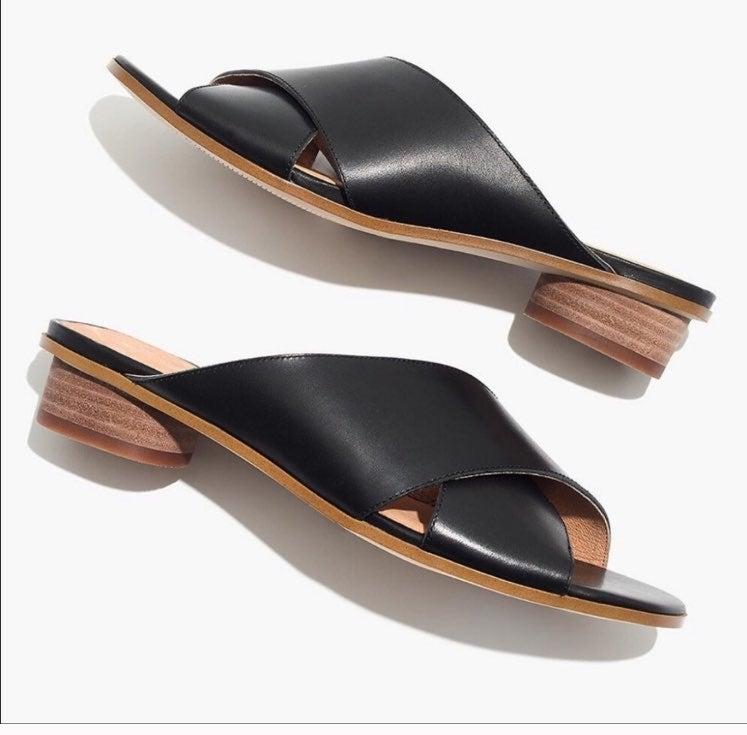 Madewell ruthie criss cross sandals 8.5