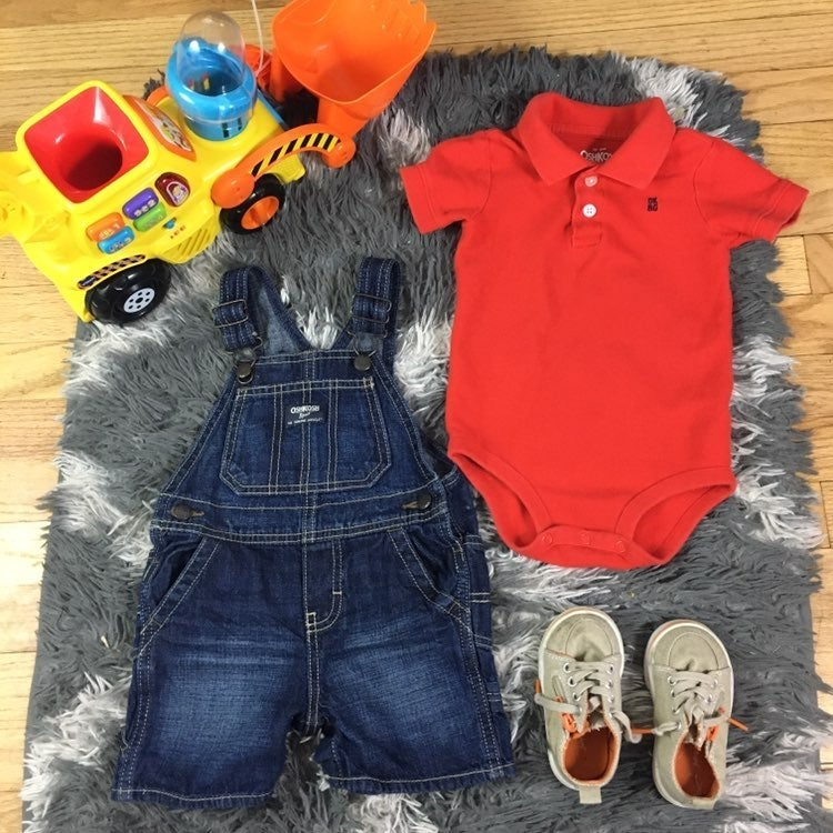 Oshkosh Outfit Baby Size 18M