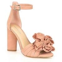 afcc58e709b Gianna Bini Leather Suede Heels