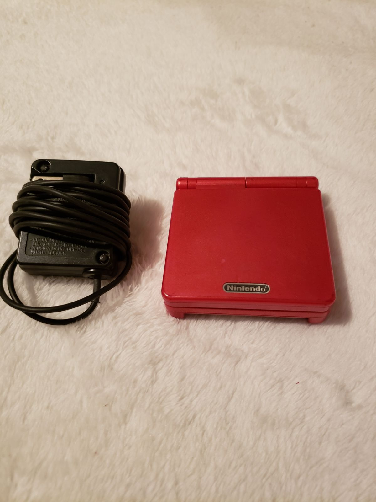 Gameboy Advance Sp - Red
