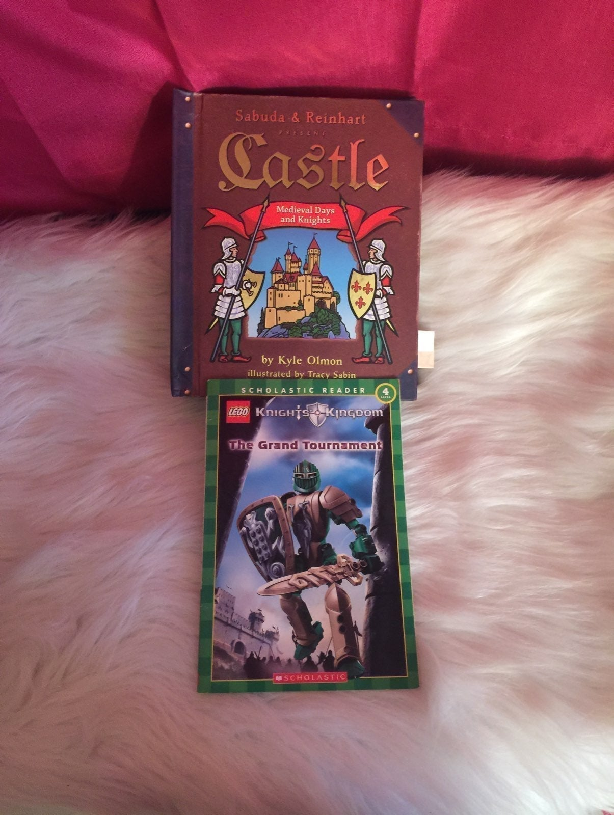Medieval Castle Book in 3D / LEGO Book